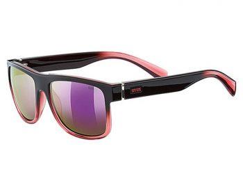 Lifestyle > Okulary - Okulary Uvex Lgl 21 Black Rose