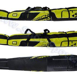 Akcesoria > Pokrowce - Pokrowiec na kółkach na narty i buty narciarskie Fischer Alpine Race Wheels 195 (Z11516) 2018