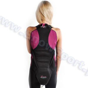 Akcesoria > Ochraniacze - Ochraniacz na kręgosłup KOMPERDELL Cross Back Protector Ladies Black/Violet