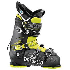 Narciarstwo > Buty narciarskie - Buty Dalbello Panterra 100 Black / Acid Yellow 2018 [DP100M7.BB]