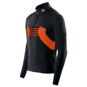 Odzież zimowa > Bielizna termoaktywna - Bluza termoaktywna z krótkim zamkiem X-Bionic Racoon Man Zip Up B078 2018