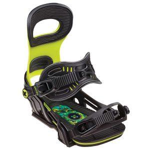 Snowboard > Wiązania snowboardowe - Wiązania Bent Metal Transfer Green 2019