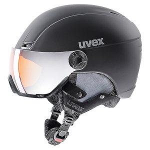 Akcesoria > Kaski - Kask z przyłbicą szybą Uvex Hlmt 400 Visor Style Black Mat (20) 2019 OTG