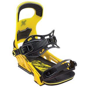 Snowboard > Wiązania snowboardowe - Wiązania Bent Metal Logic Yellow 2019