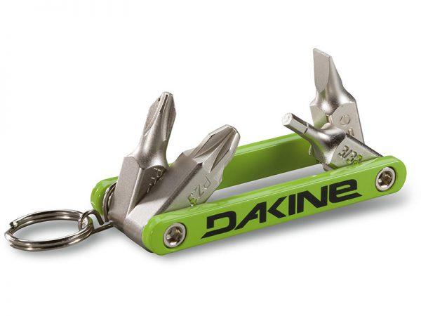 Akcesoria > Smary i narzędzia - Klucz snowboardowy DAKINE Fidget Tool Green 2019