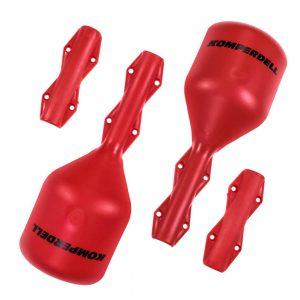 Akcesoria > Ochraniacze - Gardy Osłony Ochraniacze na kijki Komperdell Small Red