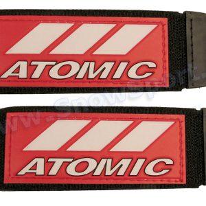Akcesoria > Inne - Zapinki do nart Atomic Czerwono/Białe - 2szt. (3002)
