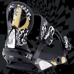 Snowboard > Wiązania snowboardowe - Wiązania Nitro Raiden Lynx 2009