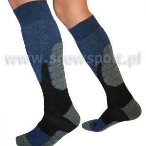 Odzież zimowa > Skarpety - Skarpety Ski Sock - Sesto Senso - kolor mix