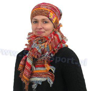Odzież zimowa > Nakrycia głowy - Komplet czapka i szalik Loman Marylin 109 2014