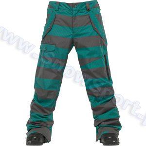 Odzież zimowa > Spodnie - Spodnie Burton Indecent Exposure Pant / Siren Sweater Stripes 2012