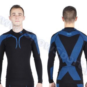 Odzież zimowa > Bielizna termoaktywna - Gatta Bluza Thermo Plus Matt Black Light Navy 2016