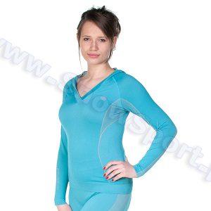 Odzież zimowa > Bielizna termoaktywna - Bluza Termoaktywna Damska Brubeck Fit Balance (LS0100)