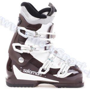 Narciarstwo > Buty narciarskie - Buty SALOMON DIVINE 550 Brown White 2014