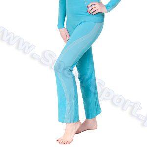Odzież zimowa > Bielizna termoaktywna - Spodnie Termoaktywne Damskie 7/8 Brubeck Fit Balance (LE00700)