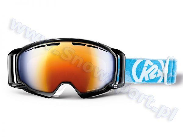 Akcesoria > Gogle - Gogle K2 Captura Black Burnt Orange Octic Blue Mirror 2013