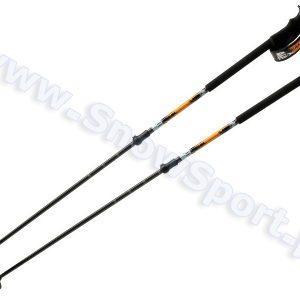 Narciarstwo > Kijki narciarskie - Kijki Atomic BCT Carbon Black Orange regulowane 110-155cm 2016