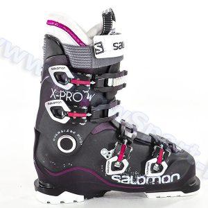 Narciarstwo > Buty narciarskie - Buty SALOMON X Pro 80 W Purple Translucent Black Pink 2015
