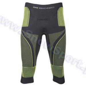 Odzież zimowa > Bielizna termoaktywna - Spodnie termoaktywne 3/4 X-Bionic Energy Accumulator EVO Man charcoal yellow