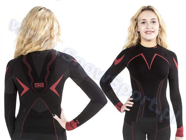 Odzież zimowa > Bielizna termoaktywna - Bluza Gatta Active Thermo Plus Jolly Black Grey Red