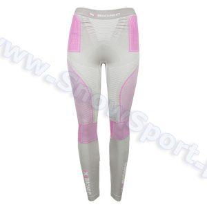 Odzież zimowa > Bielizna termoaktywna - Spodnie termoaktywne X-Bionic Radiactor EVO Lady silver fuchsia