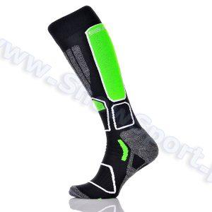 Odzież zimowa > Skarpety - Skarpety SPAIO Ski Power Black Green 2015