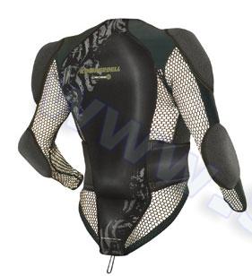 Akcesoria > Ochraniacze - Ochraniacz kurtka na kręgosłup i ramiona KOMPERDELL Jacket Cross Protector