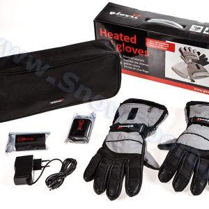Akcesoria > Systemy grzewcze - Ogrzewane rękawice narciarskie Glovii Black 2015