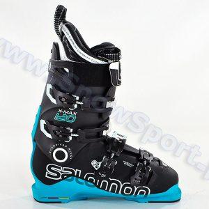 Narciarstwo > Buty narciarskie - Buty SALOMON X MAX 120 Black Blue 2015