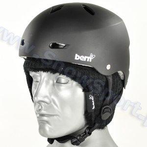 Akcesoria > Kaski - Kask BERN Brighton Hard Hat Matte Black