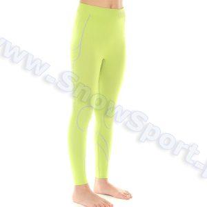 Odzież zimowa > Bielizna termoaktywna - Spodnie dziewczęce termoaktywne BRUBECK KIDS THERMO Lime  2014