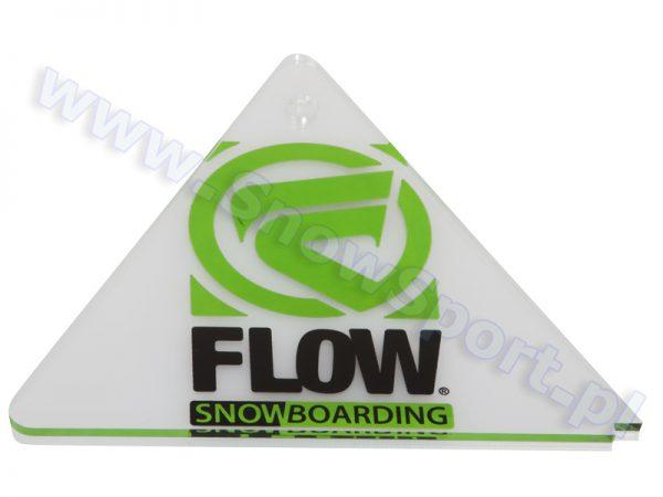 Akcesoria > Smary i narzędzia - Cyklina snowboardowa plexi Flow Delta Scrapper 2013