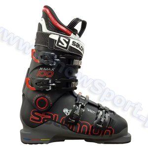 Narciarstwo > Buty narciarskie - Buty SALOMON X MAX 100 Black Anthracite 2015
