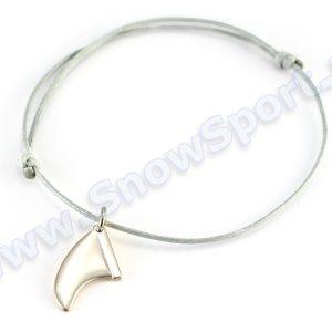 Lifestyle > Biżuteria i dodatki - Srebrna bransoletka SilverSurf Fin S Silver