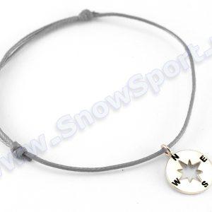 Lifestyle > Biżuteria i dodatki - Srebrna bransoletka SilverSurf Wind Rose S Silver