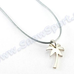 Lifestyle > Biżuteria i dodatki - Srebrny naszyjnik SilverSurf Palmtree S Silver